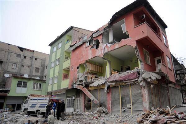 Van Depreminden Şehircilik Notları